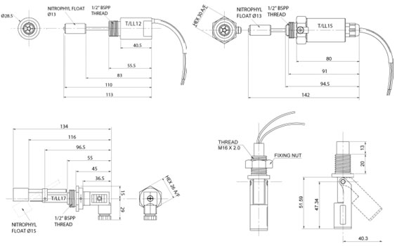 Side Entry Float Switches