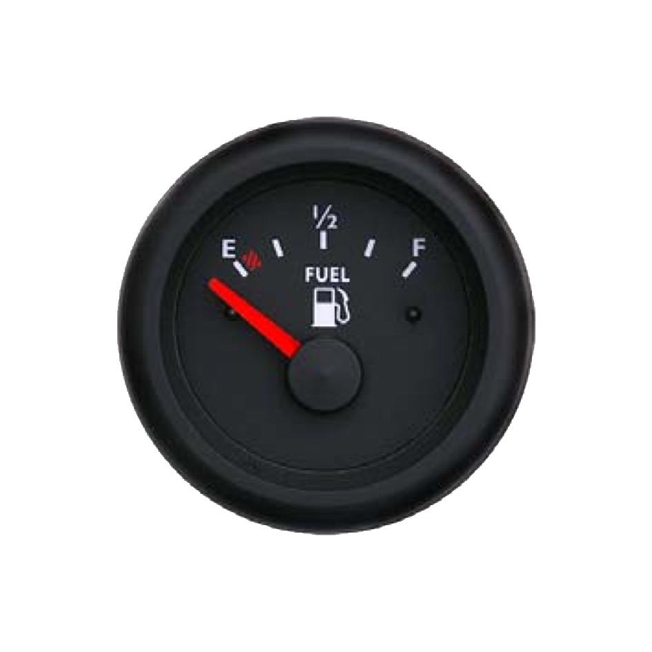 Electronic Gas Gauge : Fuel level gauge marine line double glass anti fog system